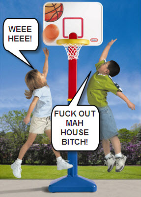 Little Tikes Getting Dunked On