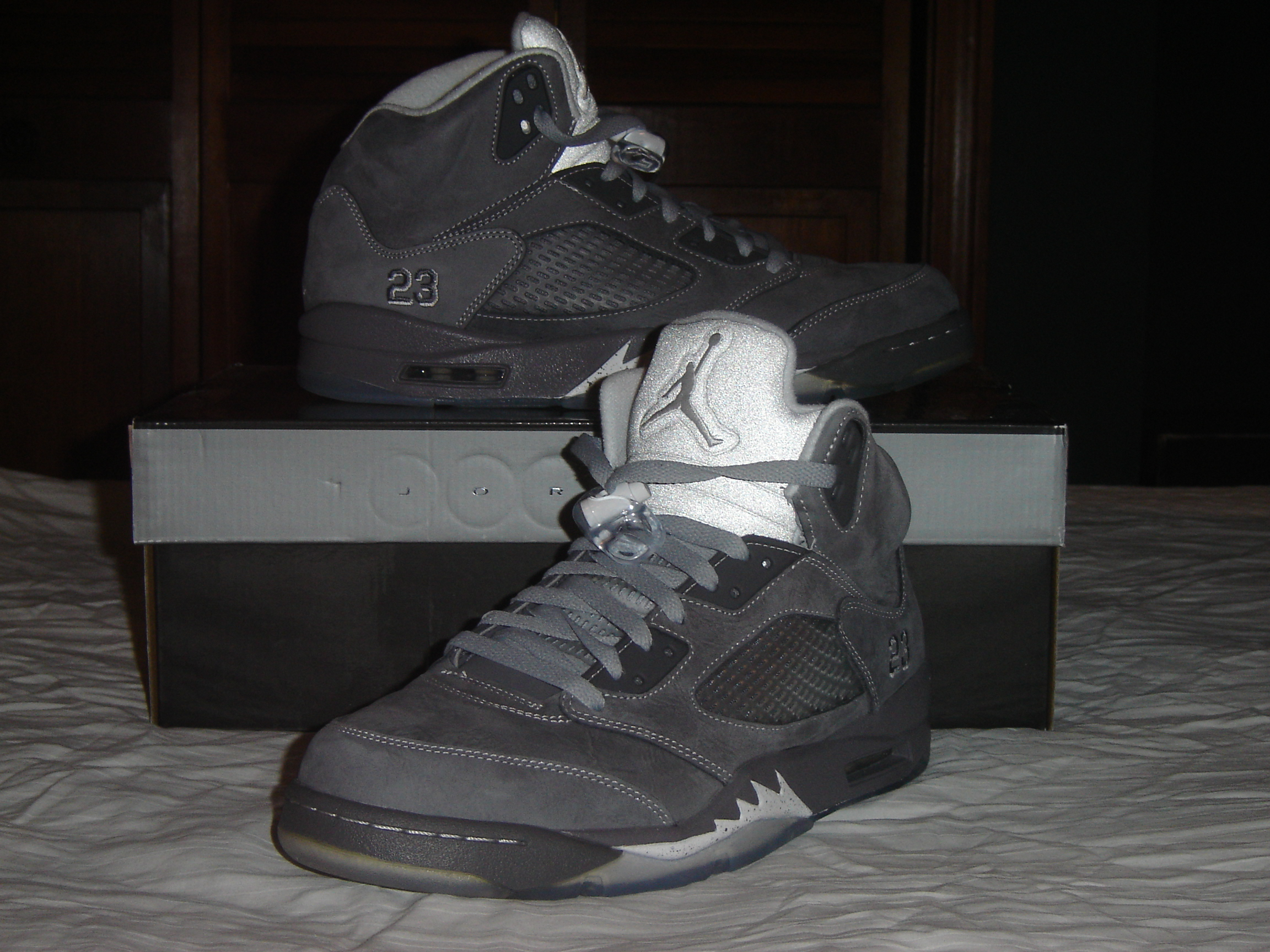 air jordan v black silver 2011 nissan