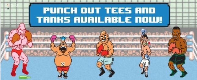 Punchout Tee Shirts